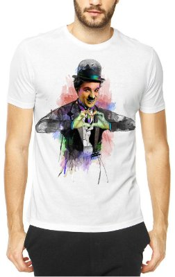 Camisetas personalidades em aquarela