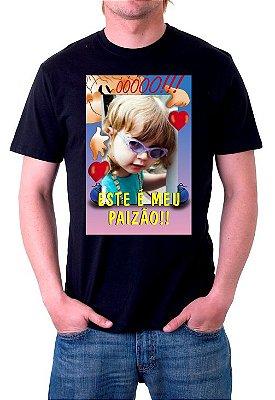 Foto na Camiseta Preta