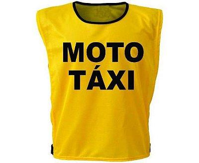 Colete Moto Táxi