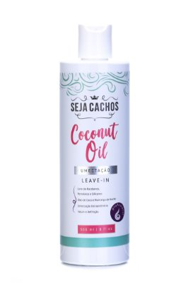 Leave In Seja Cachos Coconut Oil 500ml