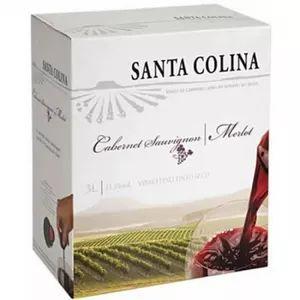 Vinho Santa Colina Cabernet Sauvignon / Merlot 3 L Bag in Box
