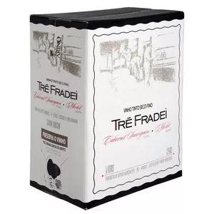 Vinho Tre Fradei Cabernet/Merlot Bag in box 5 litros