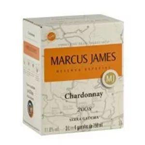 Vinho Marcus James Chardonnay Bag in Box 3 Litros