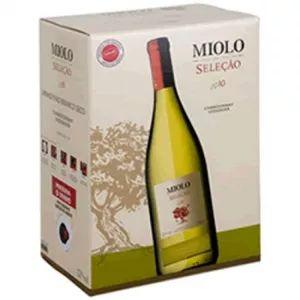 Vinho Miolo Seleção Branco Bag in Box 3 Litros