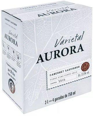 Vinho Aurora Varietal Cabernet Sauvignon Bag in Box 3 Litros