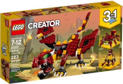 LEGO Creator 31073 Mythical Creatures 3 em 1