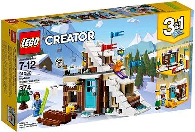 LEGO Creator 31080 Modular De Ferias De Inverno 3 em 1