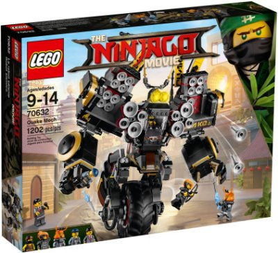 LEGO Ninjago Movie 70632 Robô Sísmico Quake Mech
