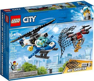 LEGO City 60207 Perseguição policial ao drone