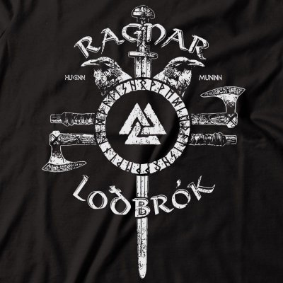 Camiseta Ragnar Lodbrok