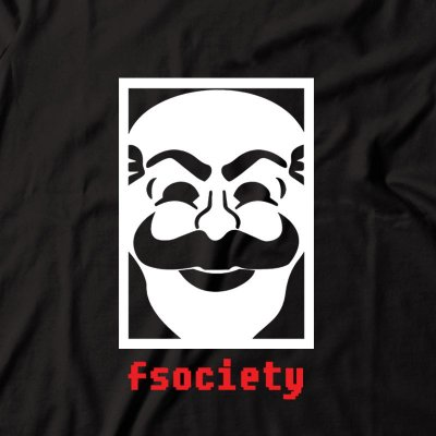 Camiseta Mr. Robot fsociety
