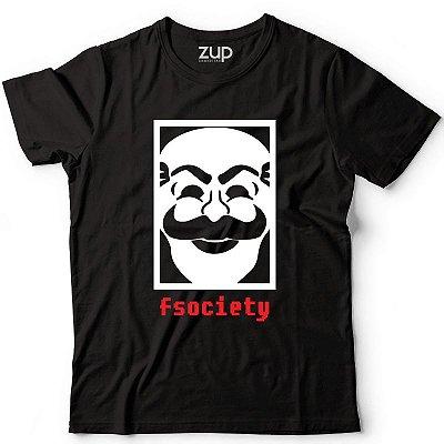 Camiseta Mr. Robot fsociety