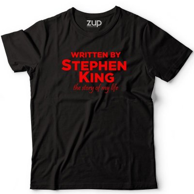 Camiseta Written by Stephen King