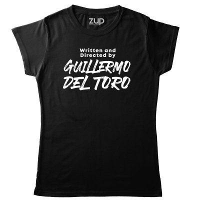 Camiseta Written and Directed by Guillermo del Toro