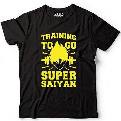 Camiseta Training To Go Super Saiyan