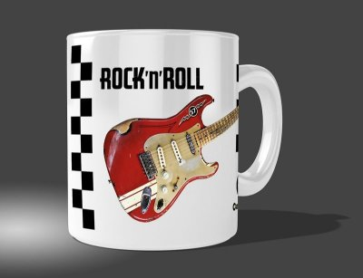 Caneca Rock and Roll - 01Personalizável