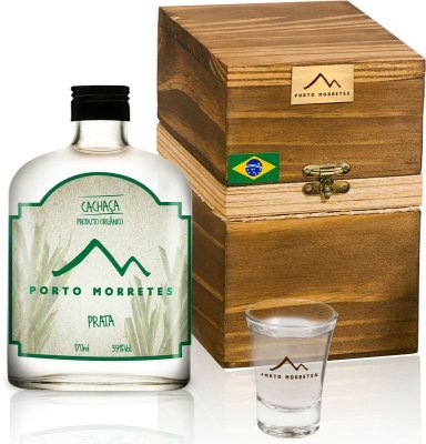 Cachaça Porto Morretes Prata | Kit Degustação Mini