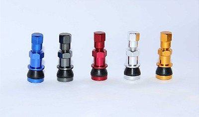 Válvula de Pneu em Alumínio Importada D1 Spec - Escolha a cor!