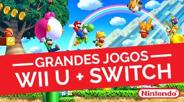 Jogos Wii U + Switch