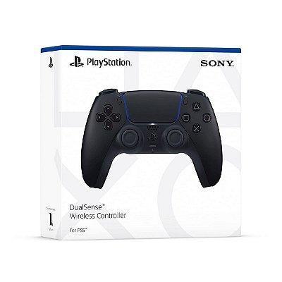 Controle DualSense Preto Midnight Black - PS5