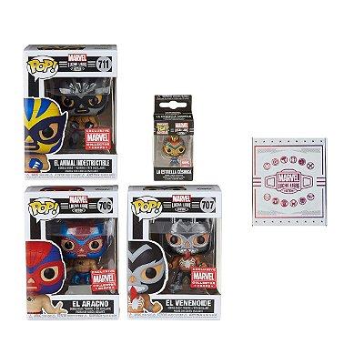 Funko Box Collectors Corps Marvel Lucha Libre Edition