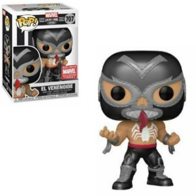 Funko Pop Marvel Lucha Libre 707 El Venenoide Venom