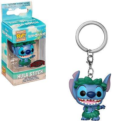 Chaveiro Funko Pop Pocket Disney Lilo & Stitch - Hula Stitch