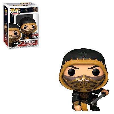 Funko Pop Mortal Kombat 1058 Scorpion Special Edition