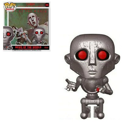 Funko Pop Albums 06 News Of The World Queen