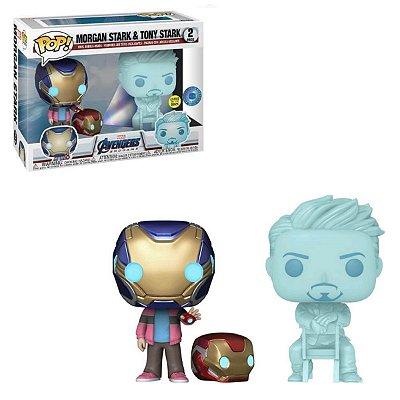 Funko Pop Marvel Avengers 2-Pack Morgan Stark & Tony Stark