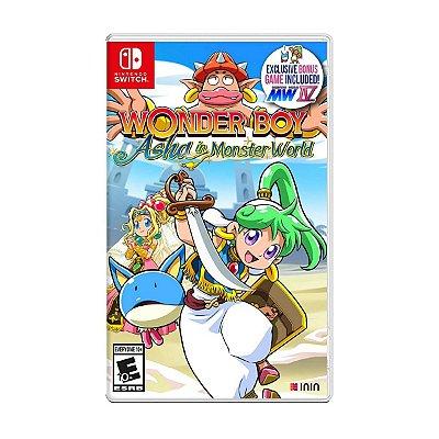 Wonder Boy Asha in Monster World - Switch