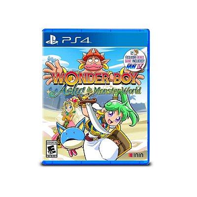 Wonder Boy Asha in Monster World - PS4