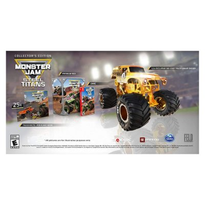 Monster Jam Steel Titans Collectors Edition - Switch