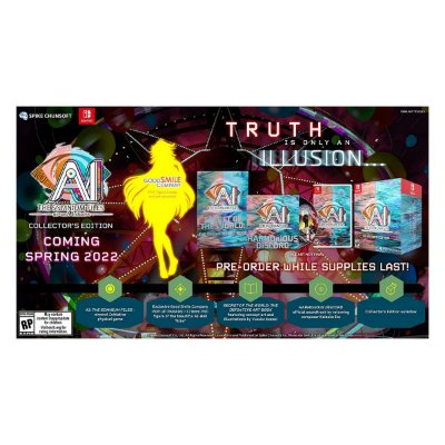 AI THE SOMNIUM FILES nirvanA Initiative Collector's Edition - Switch