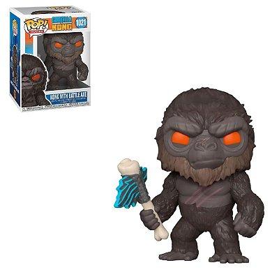 Funko Pop Godzilla vs Kong 1021 King Kong with Battle Axe