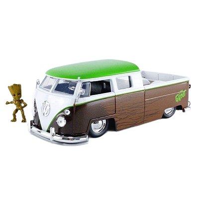 Marvel Guardians of the Galaxy Groot & 1963 Kombi Pickup 1:24 Jada Toys