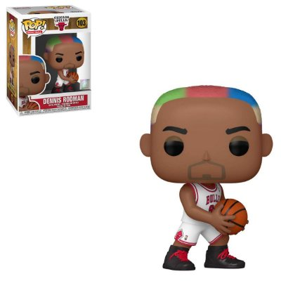 Funko Pop NBA Legends 103 Dennis Rodman Chicago Bulls