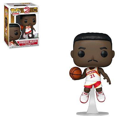 Funko Pop NBA Legends 104 Dominique Wilkins Atlanta Hawks