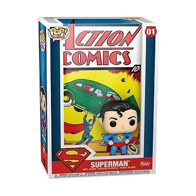 Funko Pop Comic Covers DC 01 Superman