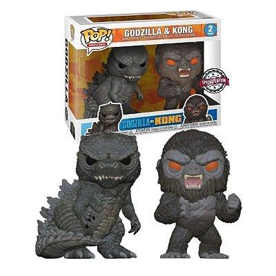 Funko Pop Godzilla Vs Kong 2-Pack