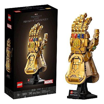 Lego Marvel Infinity Gauntlet Manopla Do Infinito Thanos - 76191