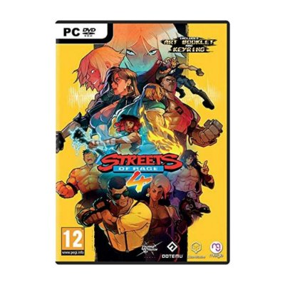 Streets of Rage 4 - PC DVD