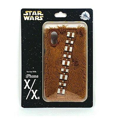 Case iPhone Xs & iPhone X Disney Star Wars Chewbacca Peluda