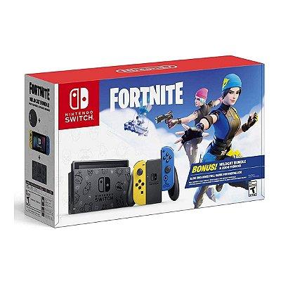Console Nintendo Switch 32GB Fortnite Wildcat Bundle