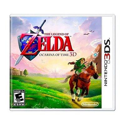 The Legend Of Zelda: Ocarina Of Time 3D - 3DS