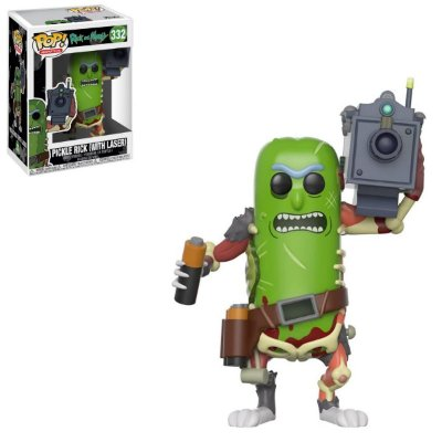 Funko Pop Rick And Morty 332 Pickle Rick With Laser