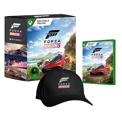 Forza Horizon 5 Especial c/ Boné - Xbox One / Xbox Series X / S