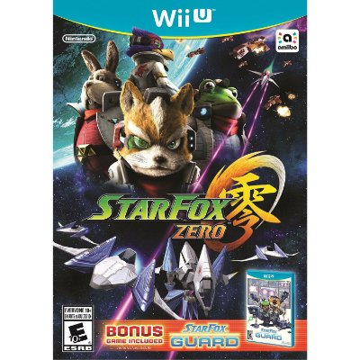 Star Fox Zero Starfox + Starfox Guard - Wii U