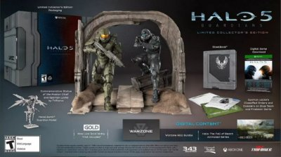 Halo 5 Guardians Collector's Edition