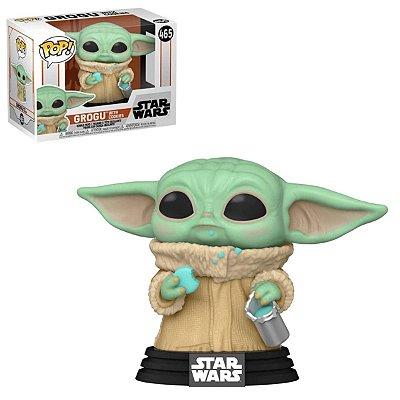 Funko Pop Star Wars 465 Baby Yoda Grogu w/ Cookies